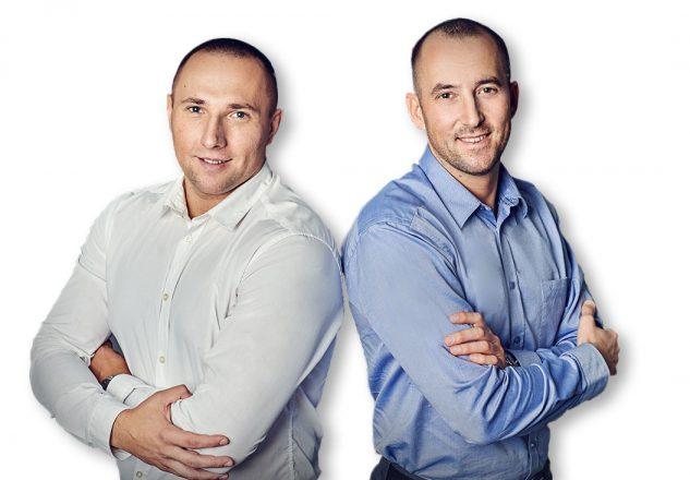 Kamil Borkowski i Sylwester Kupisz